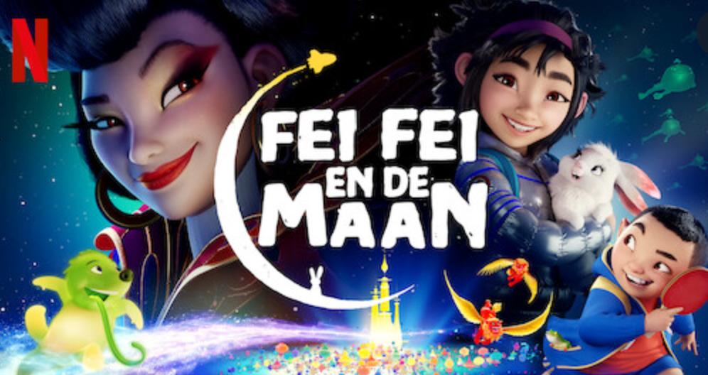 Fei Fei en de maan